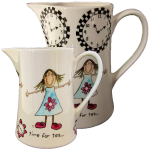 Time for Tea jugs