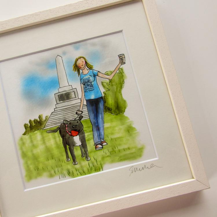 Framed Gift Illustrations