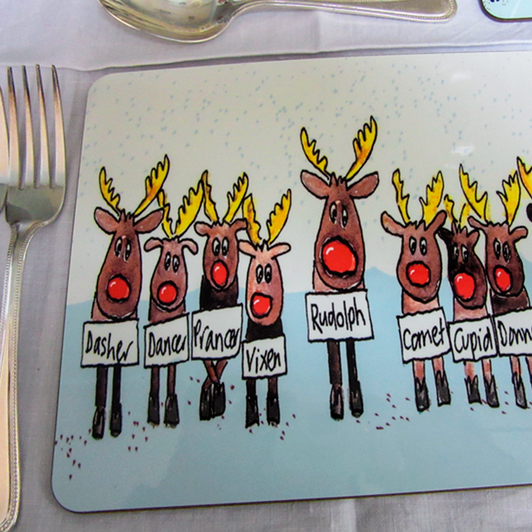 Reindeer Placemats